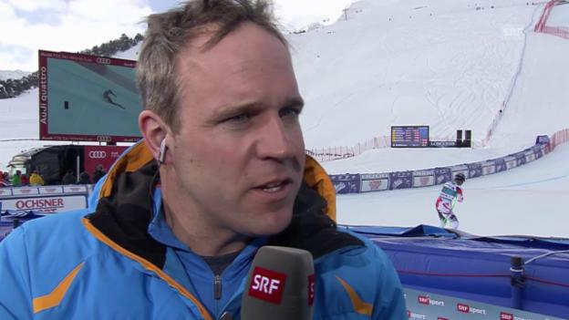 Video «Ski: Michael Bont im Gespräch vor der WM in Vail-Beaver Creek» abspielen