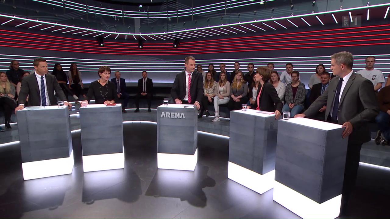 Abstimmungs-Arena: «Atomausstiegs-Initiative»