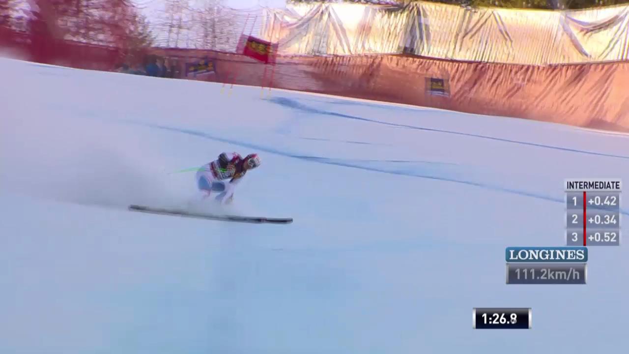 Ski alpin: Super-G in Gröden, Patrick Küng