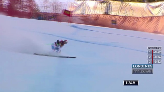 Video «Ski alpin: Super-G in Gröden, Patrick Küng» abspielen