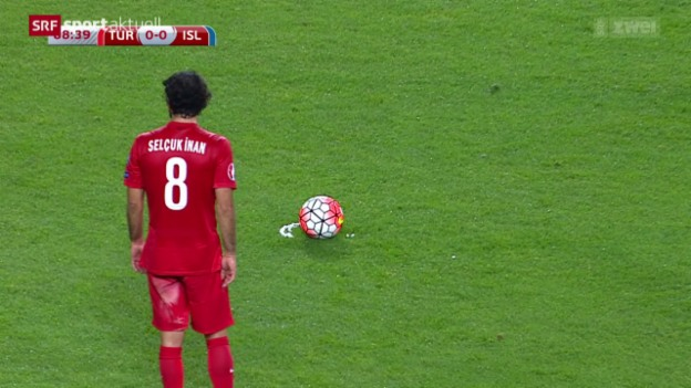 Video «Fussball: EM-Quali, Türkei - Island» abspielen
