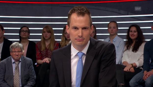 Video «Jonas Projer zur Abstimmungs-«Arena» Verkehrsfinanzierung» abspielen