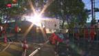 Video «Ausnahmezustand in Bern» abspielen