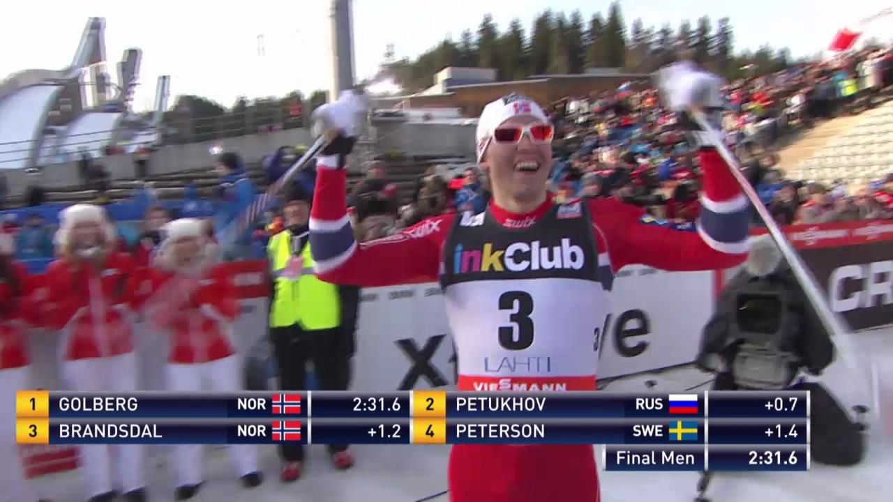 Langlauf: Sprint in Lahti, Final Männer («sportlive», 1.3.14)