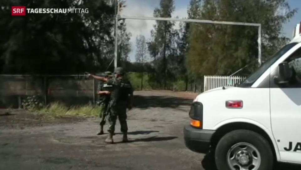 Mehr als 40 Tote in Mexiko