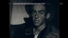 Video «Schweizer Filmwochenschau vom 29.8.1952» abspielen