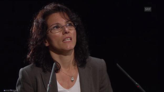 """Video «Amira Hafner Al-Jabadji erklärt, wie die Weltwoche """"Normen"""" kreiert» abspielen"""