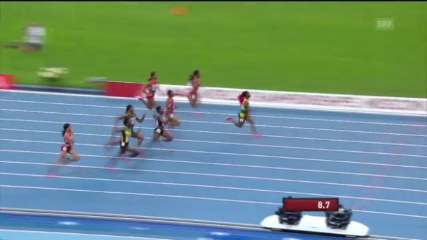 Video «100 m der Frauen («sportlive»)» abspielen