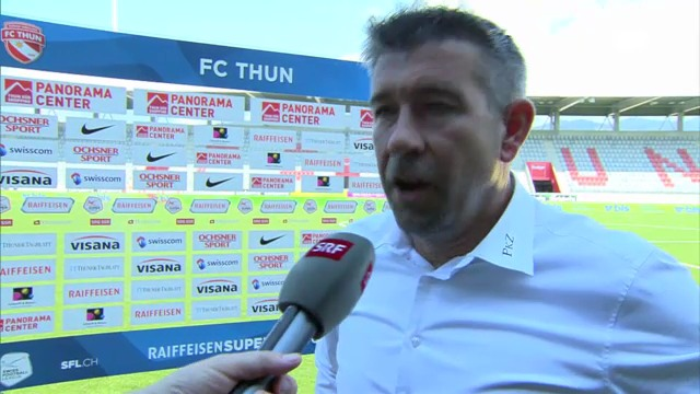 Interview mit Thun-Trainer Urs Fischer