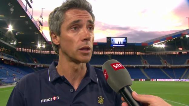 Video «Interview mit Paulo Sousa (englisch)» abspielen
