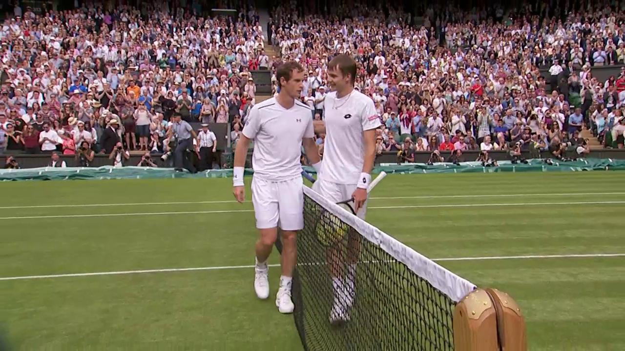 Murray erreicht problemlos die 2. Runde