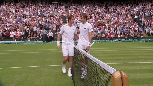 Video «Murray erreicht problemlos die 2. Runde» abspielen