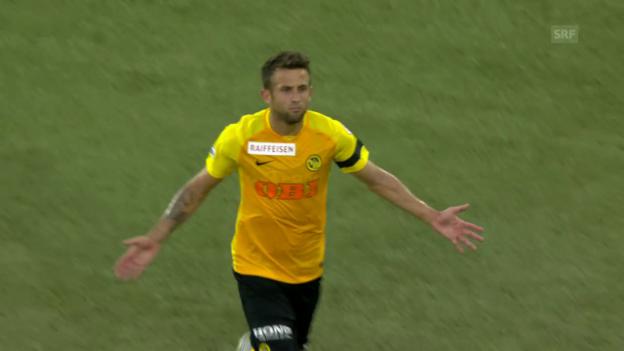 Video «Miralem Sulejmanis Tor gegen Basel» abspielen