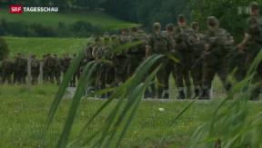 Video «Sozialdemokraten wollen kleinere Armee» abspielen