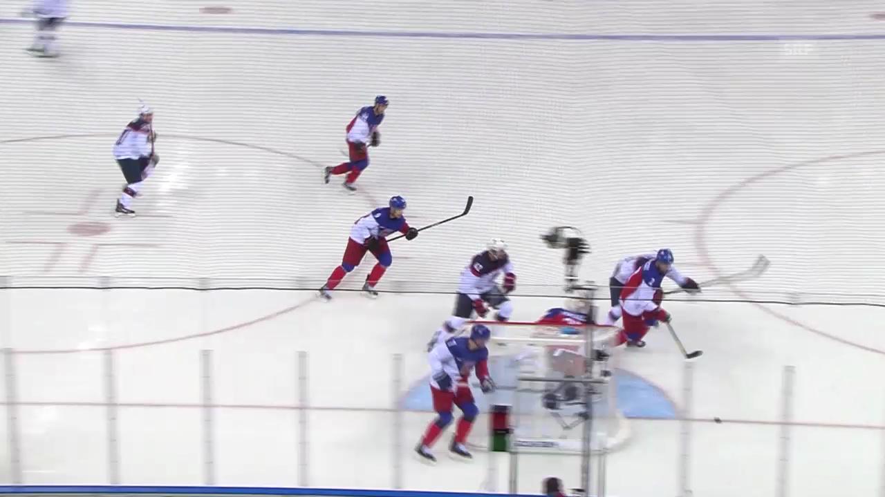 Sotschi: Eishockey, Viertelfinal, USA - Tschechien