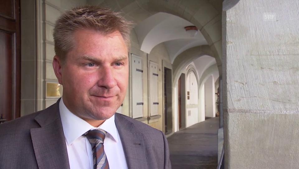 Zur Auswertung: SVP-Präsident Brunner