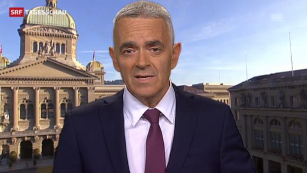 Video «Einschätzung von Fritz Reimann, Bundeshaus» abspielen