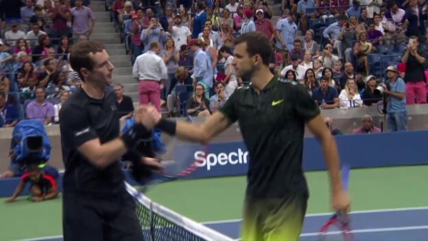 Video «Murray fertigt Dimitrov ab» abspielen