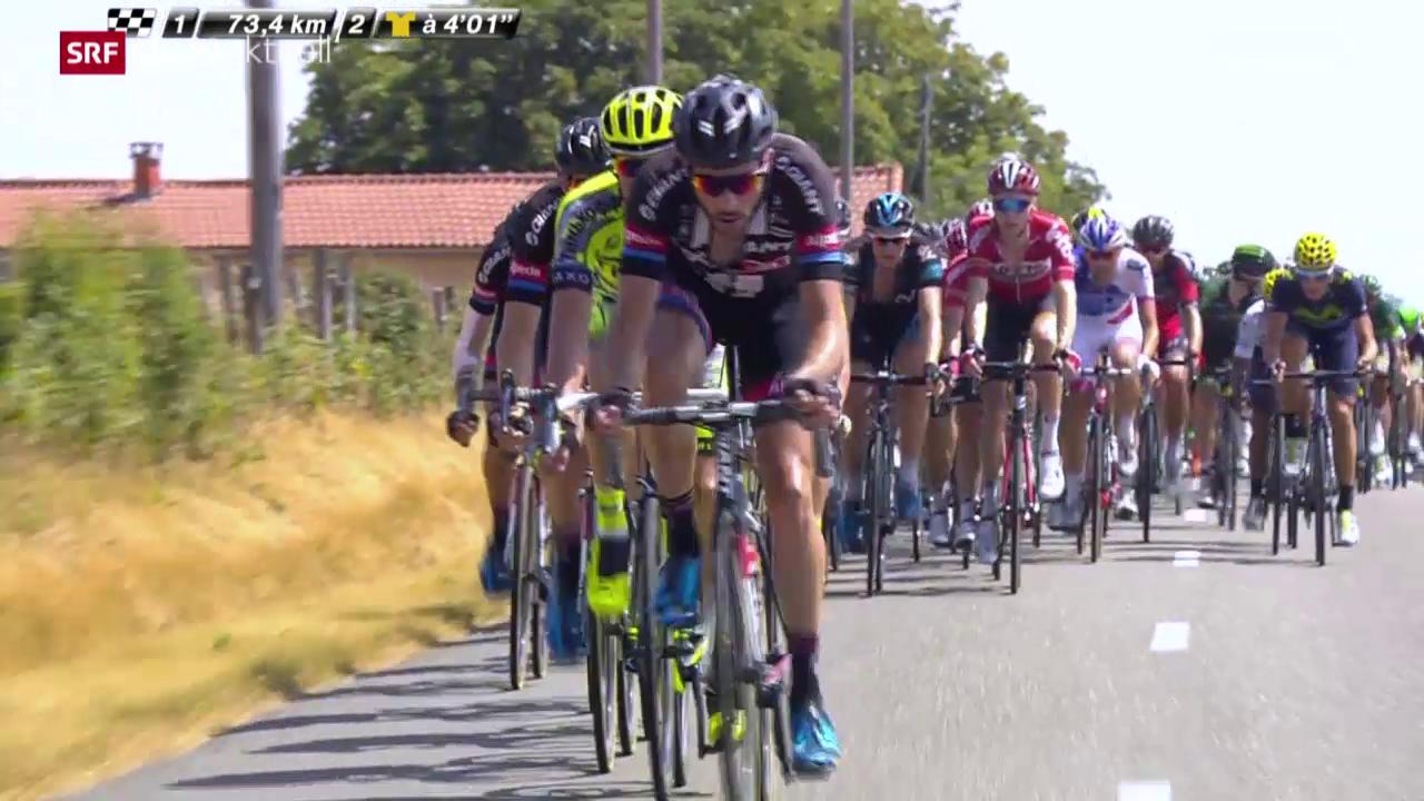 Rad: 13. Etappe Tour de France