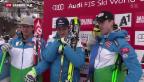 Video «Abfahrts-Triumph für die Österreicher» abspielen