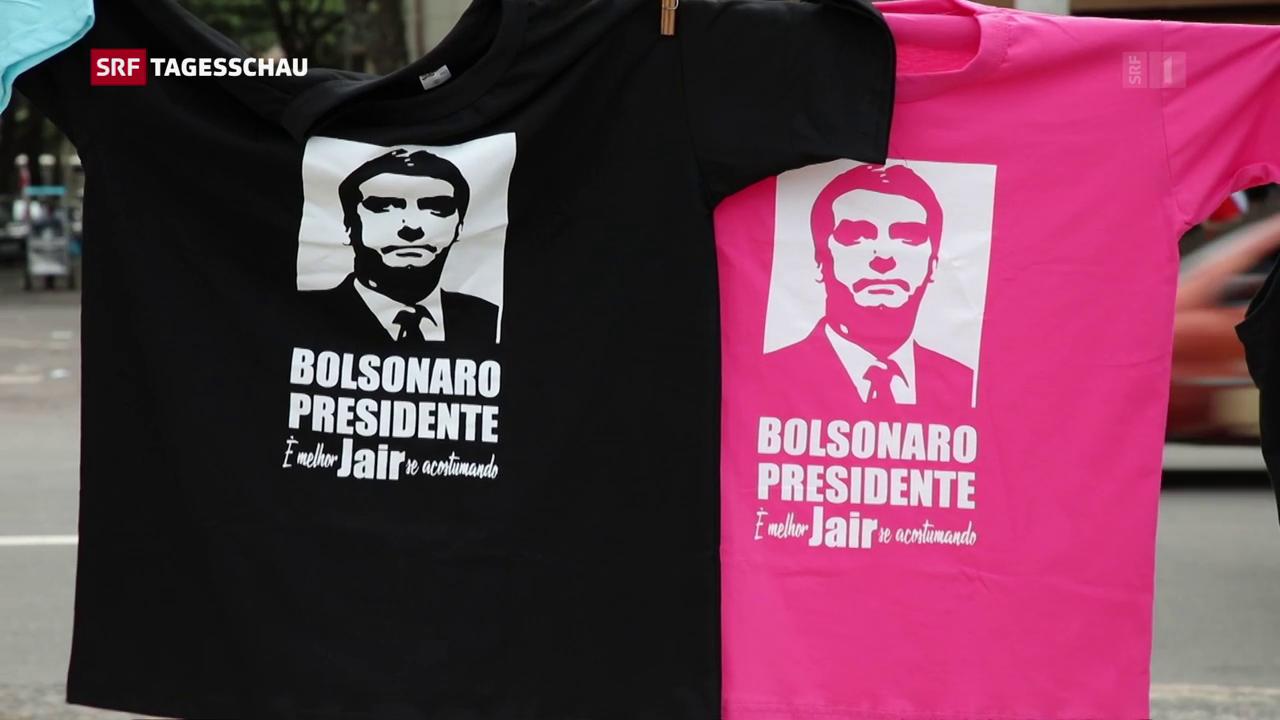 Bolsonaro gewinnt erste Wahlrunde in Brasilien