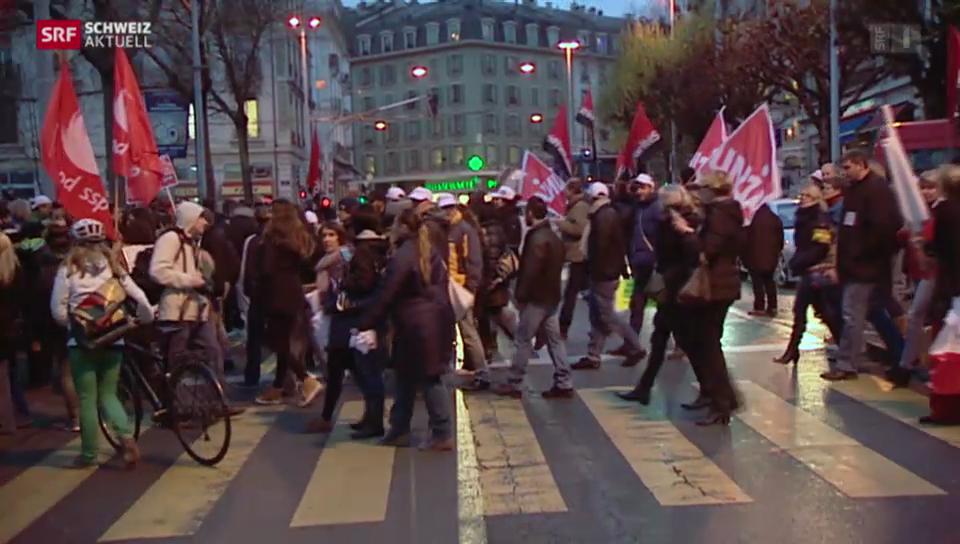 Streik in Genf