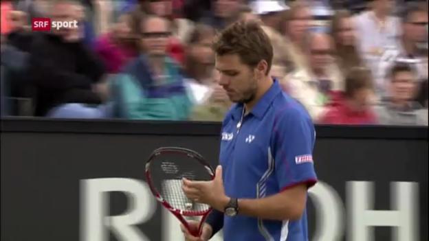 Video «ATP 's-Hertogenbosch: Wawrinka - Mahut («sportaktuell»)» abspielen