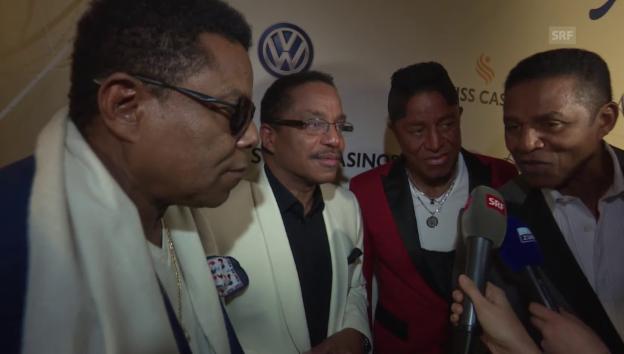 Video «The Jacksons: «Wir vermissen Michael»» abspielen