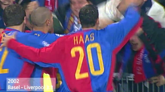 Video «Fussball: Basels Spiele gegen englische Teams» abspielen