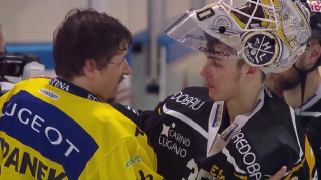 Video «Emotionen nach dem Berner Meistertitel» abspielen
