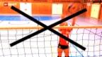 Video ««Tscheggsch de Pögg» – Warum im Volleyball eine der Spielerinnen ein anderes Leibchen trägt» abspielen