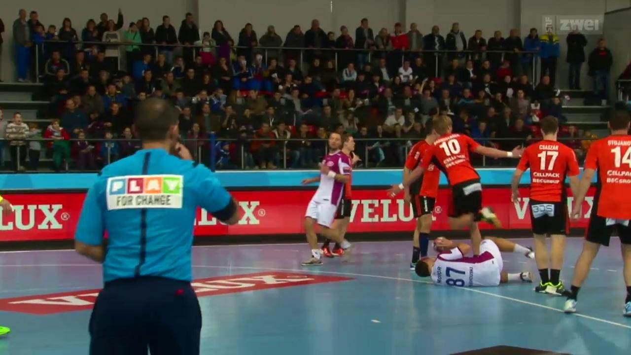 Handball: Saporoschje-Kadetten SH