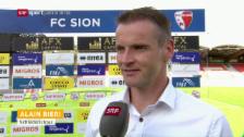 Video «Schiedsrichter Alain Bieri über die umstrittene Szene» abspielen