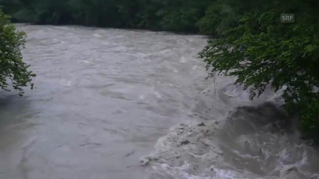 Spiseggbrücke über die Sitter (SG) Video: Marcel Löhrer via SRF Augenzeuge