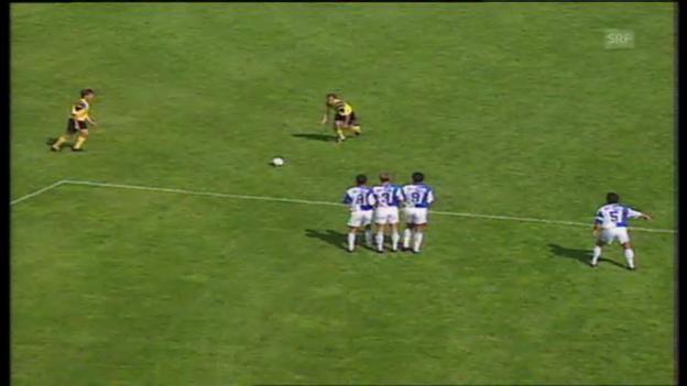 Video «Cupfinal 1994: GC besiegt Schaffhausen» abspielen