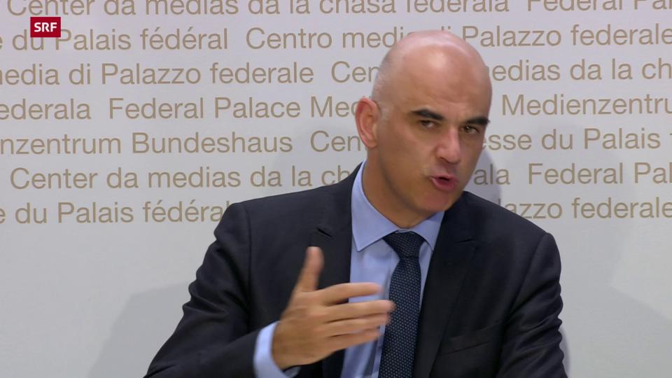 Berset: Schweiz mit zu tiefer Impfquote