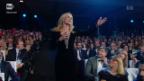 Video «Michelle Hunzikers Liebeserklärung an Ehemann Tomaso» abspielen