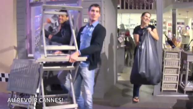 Video «Cannes Momente: Au revoir!» abspielen