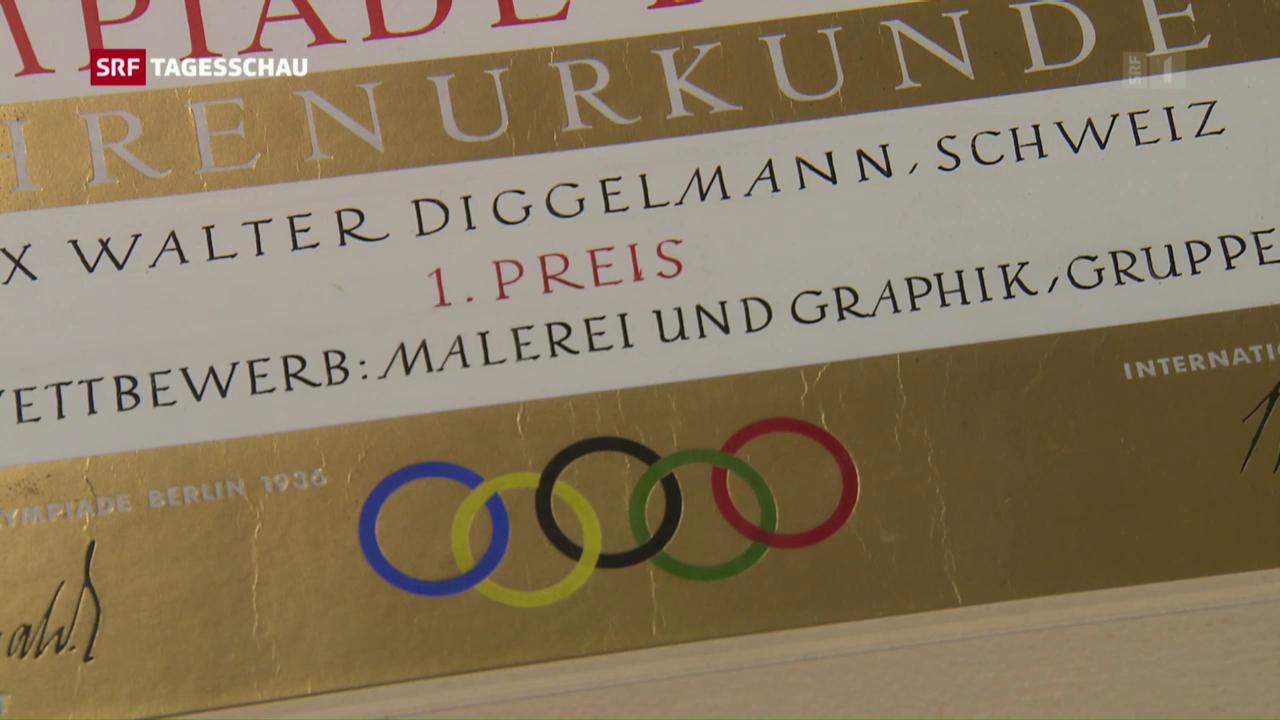 Olympische Kunst-Medaillen