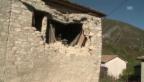 Video «Grosse Schäden nach Erdbeben in Umbrien» abspielen