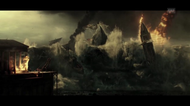 Video «Filmbesprechung zu «Pompeii»» abspielen