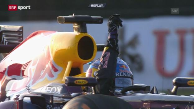 Video «Vettel schlägt auch in Suzuka zu («sportpanorama»)» abspielen