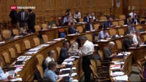 Video «Nationalrat debattiert über AHV-Reform» abspielen