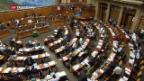 Video «Nationalrat debattiert Selbstbestimmungs-Initiative» abspielen