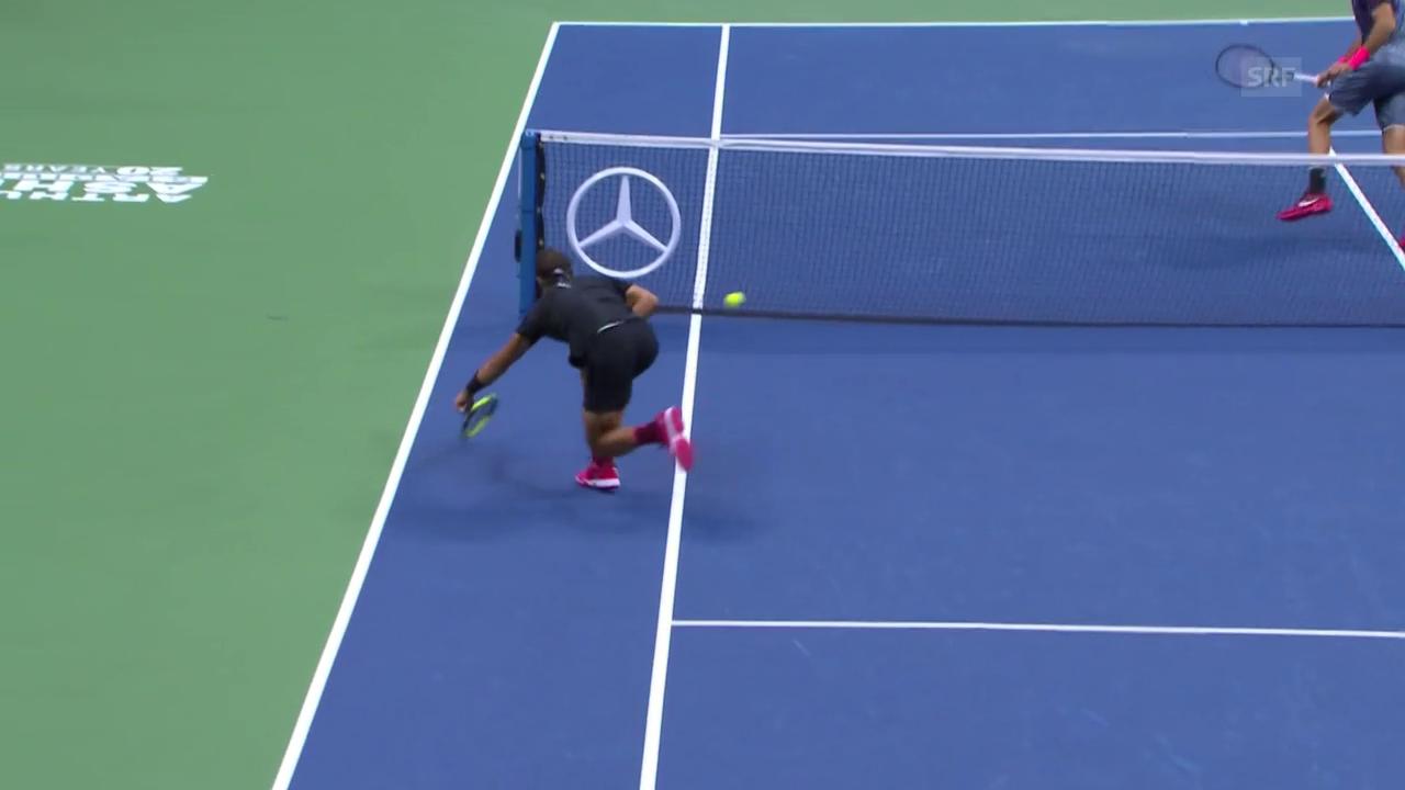 Ultraschneller Nadal zaubert gegen Del Potro