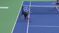 Video «Ultraschneller Nadal zaubert gegen Del Potro» abspielen
