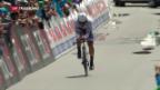 Video «Fabian Cancellara bei Dernière geschlagen» abspielen