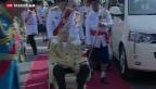 Video «Thailand feiert Geburtstag von König» abspielen
