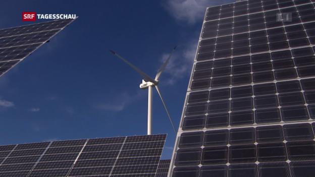 Video «Gegner der Energiestrategie bringen sich in Stellung» abspielen
