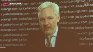 Video «Julian Assange erhält Deckung von der UNO» abspielen